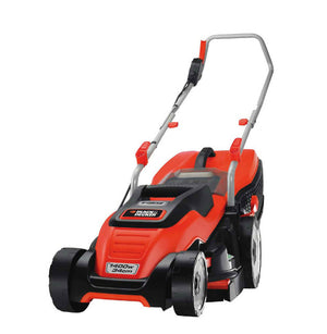 Black & Decker Electric 1400w Rotary Mower - 34cm - Gardenbox