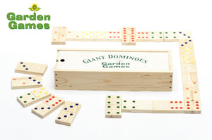Garden Dominoes Set - Choice of In a Box or Bag - Gardenbox