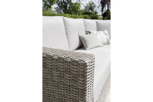 The Life Aya Round Corner Set in Yacht Grey Weave