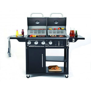Tepro Buffalo Gas & Charcoal Dual Fuel BBQ