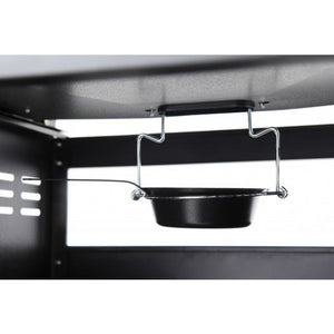 Drip tray for easy clean on the Tepro Buffalo Combi BBQ