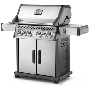 Napoleon Rogue RSE525SIBPSS 4 Burner Stainless Steel Special Edition Gas BBQ - Gardenbox