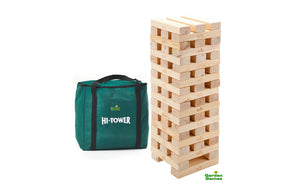 Hi-Tower Giant Garden Jenga Style Game - Gardenbox