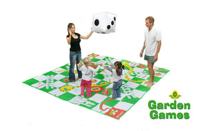Giant Garden Snakes and Ladders Set - Gardenbox