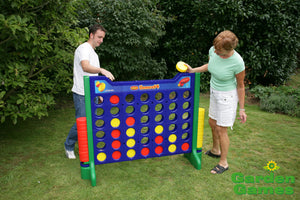 Giant Connect 4 Style Outdoor Garden Game - Gardenbox