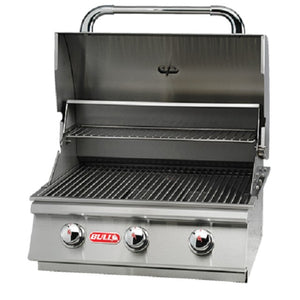 Bull Steer 3 Burner Built In BBQ Stainless Steel Grill Head - Gardenbox