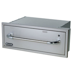 Warming Drawer Built In BBQ Kit Stainless Steel by Bull BBQ - Gardenbox