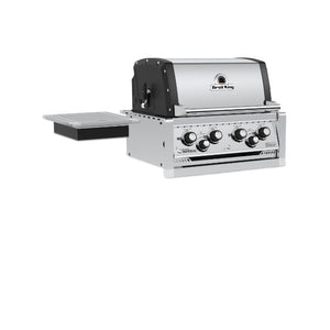Broil King Imperial 490 4 Burner Built In Natural Gas BBQ in Stainless Steel - Gardenbox