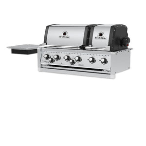 Broil King Imperial XLS 6 Burner Built In BBQ Stainless Steel Grill Head - Gardenbox
