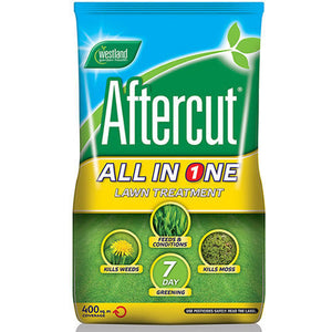 400M2 All In One AfterCut Lawn Feed Weed and Moss Killer - Gardenbox