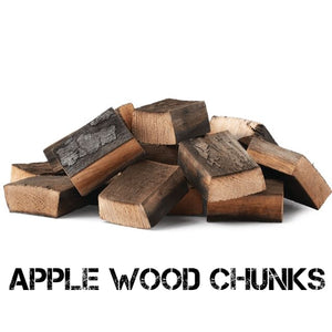 Apple Smoking Wood Chunks - Gardenbox