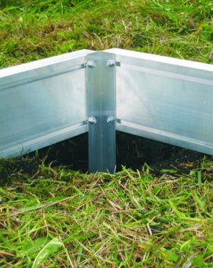 Greenhouse Aluminium Base Legs - 4 Pack - Gardenbox