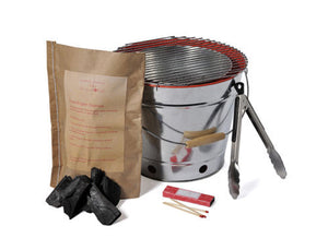 Portable Ready to Cook Camping BBQ Set - Everything you need in one bag - Gardenbox