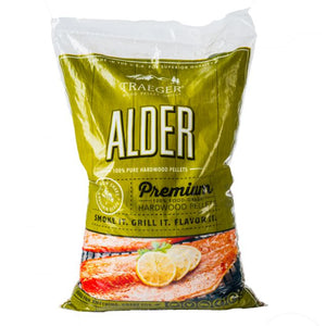 Traeger Alder Wood Pellets 20LB Bag - Gardenbox