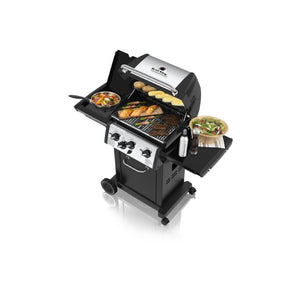 Broil King Monarch 340 3 Burner Gas BBQ - Gardenbox