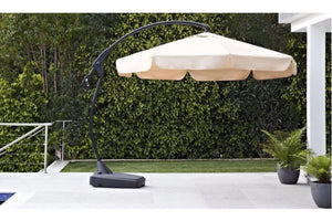 Banana Outdoor Parasol | Choice of Colours | By Maze Rattan - Gardenbox