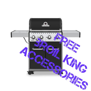 Broil King Baron 440 4 Burner Gas BBQ | Rule of Six Bundle