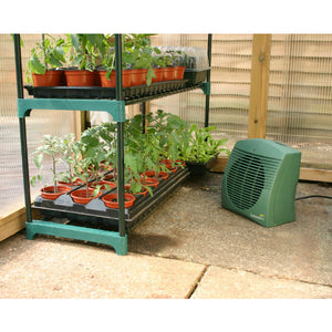 Botanico Heater - Affordable Greenhouse or Shed Heater & Cool Air Product - Gardenbox