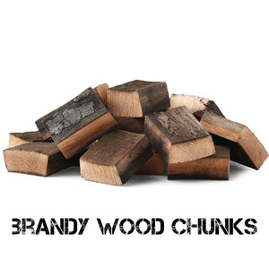 Brandy Smoking Wood Chunks - Gardenbox