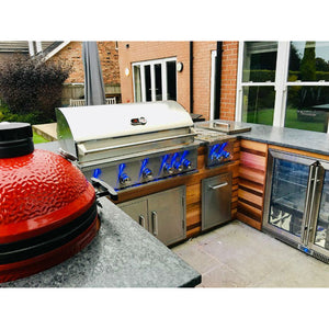 Whistler Burford 5 Burner Built In Gas Barbecue