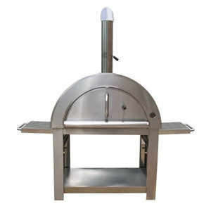 Stainless Steel Large Wood Fired Pizza Oven