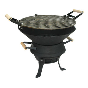 Cast Iron Basic Charcoal BBQ | Basic and simple to use - Gardenbox