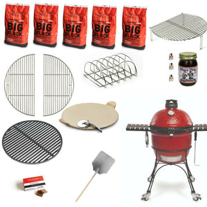 Kamado Joe Classic II Ceramic Grill | Black Friday Special Bundle