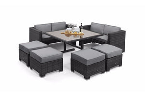 Cube Sofa Set by Maze Rattan - Gardenbox