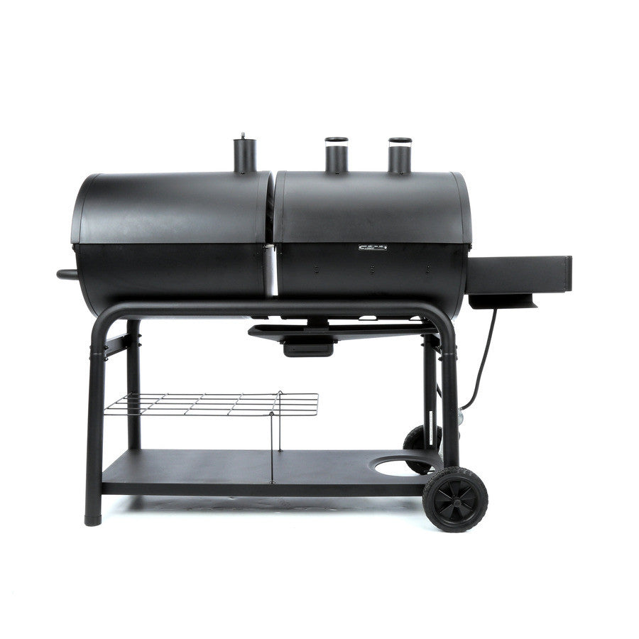 Dual Fuel Gas and Charcoal Combi Chargriller Duo BBQ ...