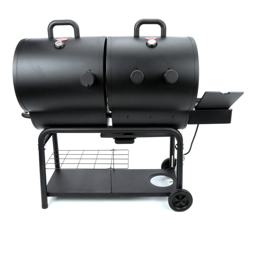 Dual Fuel Gas And Charcoal Combi Chargriller Duo Bbq
