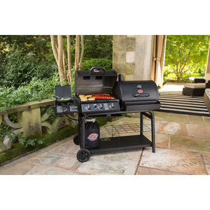 Best of Both Worlds BBQ - Chargriller Duo Gas and Charcoal Barbecue - Gardenbox