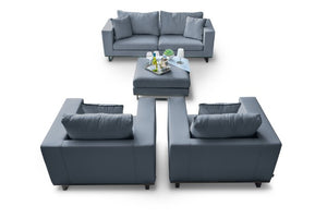 Ego 2 Seater Weatherproof Outdoor Sofa Set by Maze Rattan - Gardenbox