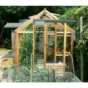 Gabriel Ash 6x8 Essentials Wooden Greenhouse - Gardenbox