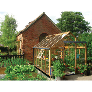 Gabriel Ash 8x10 Essentials Wooden Greenhouse - Gardenbox