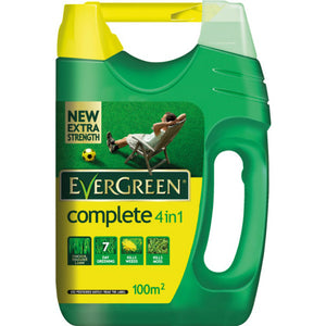 Evergreen Complete 4 in 1 Lawn Care - 100m2 - Gardenbox