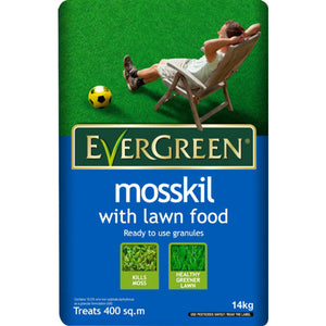 EverGreen Mosskil with Lawn Food - 400m2 - Gardenbox