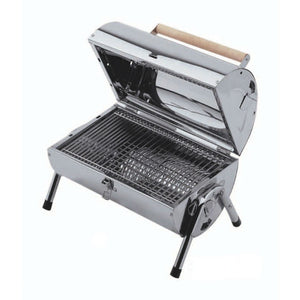 Lifestyle Explorer Charcoal Barrel Portable BBQ - Gardenbox