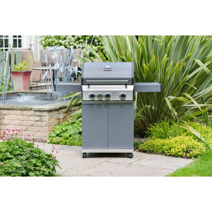 Grillstream Classic 2 Burner Gas Barbecue 2018 Model | Free Cover - Gardenbox