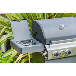 Grillstream Classic 3 Burner Gas Barbecue 2018 Model | Free Cover - Gardenbox