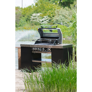 Grillstream Gourmet 4 Burner Island Gas Barbecue | Free Cover - Gardenbox