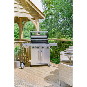 Grillstream Gourmet 4 Burner Gas Barbecue | Free Cover - Gardenbox