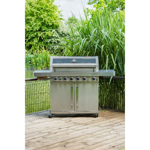 Grillstream Gourmet 6 Burner Gas Barbecue | Free Cover - Gardenbox
