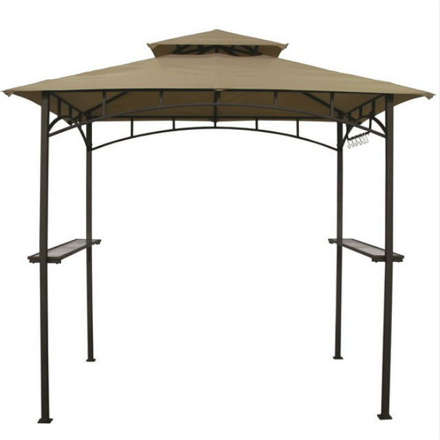 Outback Bbq Gazebo Barbecue Under Cover Gardenbox Co Uk