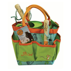 Gruffalo Children's Gardeners Tool Bag Gift with 3 Hand Tools & Watering Can - Gardenbox