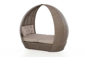 Harrogate Daybed with Weatherproof Cushions by Maze Rattan - Gardenbox