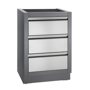Napoleon Built In BBQ Two Drawer Cabinet