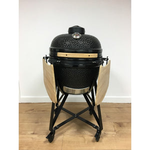 "Kamado Large 21"" Ceramic Big Green Egg Style Barbecue Ultimate Bundle - Gardenbox"