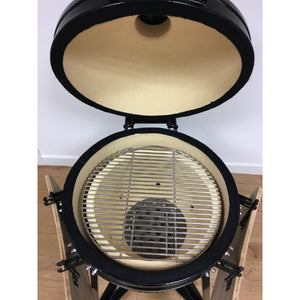 "Kamado Large 20"" Ceramic Big Green Egg Style Barbecue Oven - Gardenbox"