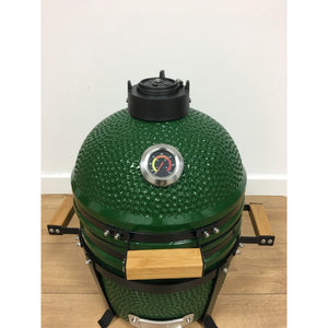 "Kamado Small 15.7"" Ceramic Big Green Egg Style Barbecue Oven - Gardenbox"