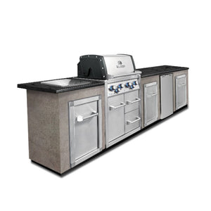 Broil King Imperial 490 4 Burner Built In Natural Gas Cabinet BBQ - Gardenbox